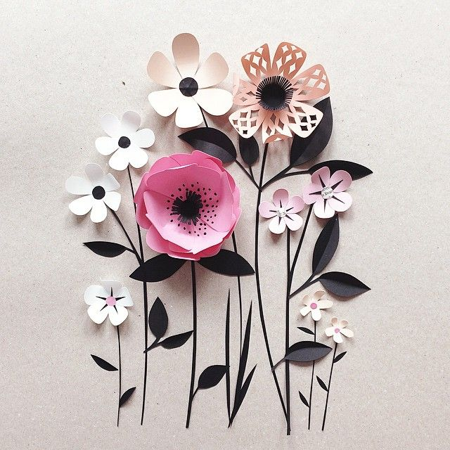 14 amazing paper flower arts and ideas for your home the day paper art mightylinksfo