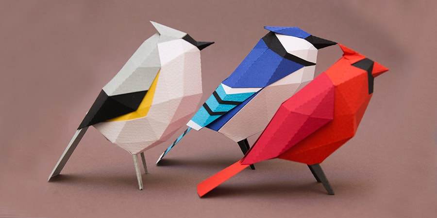 A Great Paper Bird Craft Project By Estudio Guardabosques In Uk