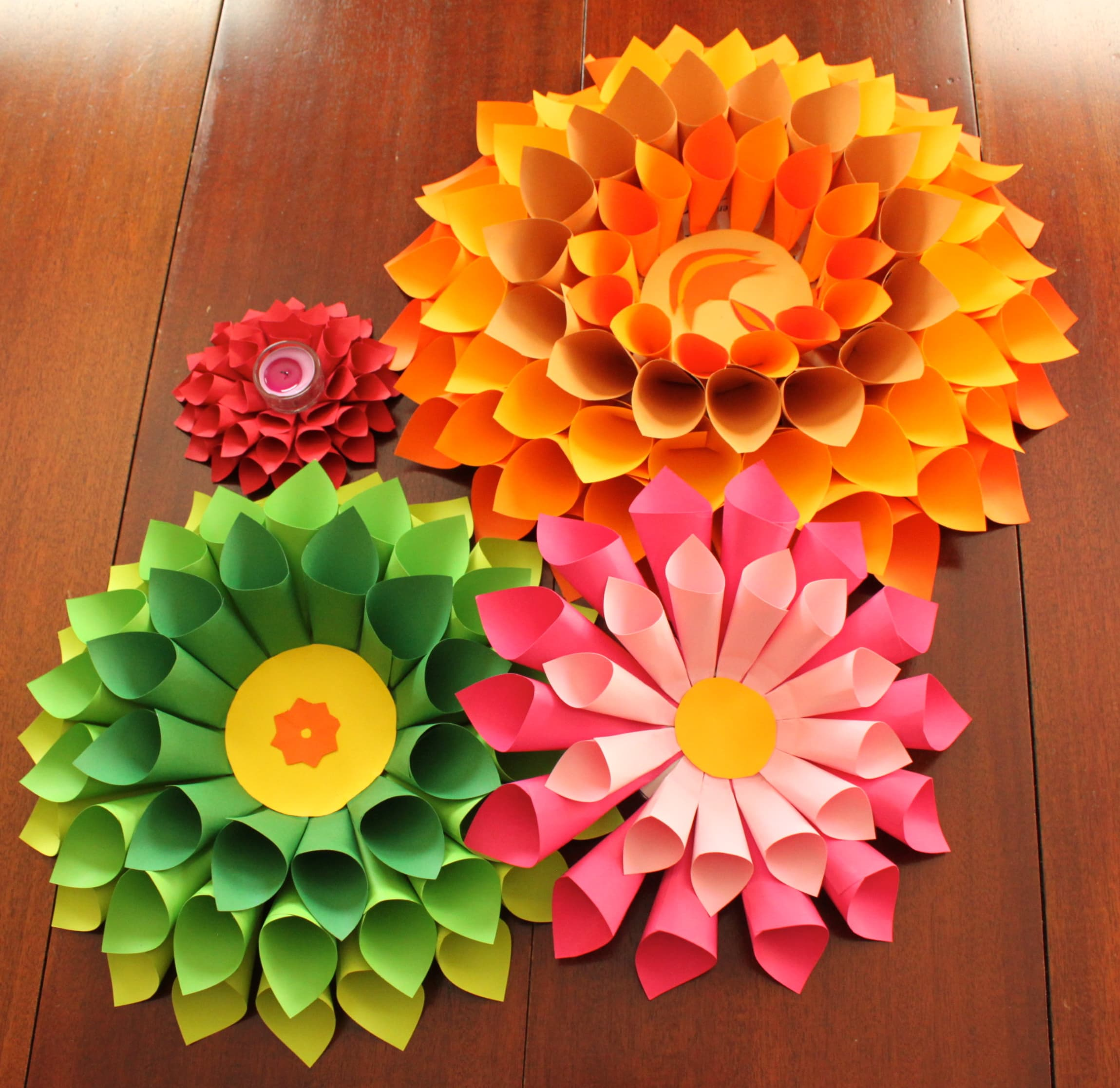 paper craft decoration ideas 14 amazing paper flower arts and ideas for your home the 5080