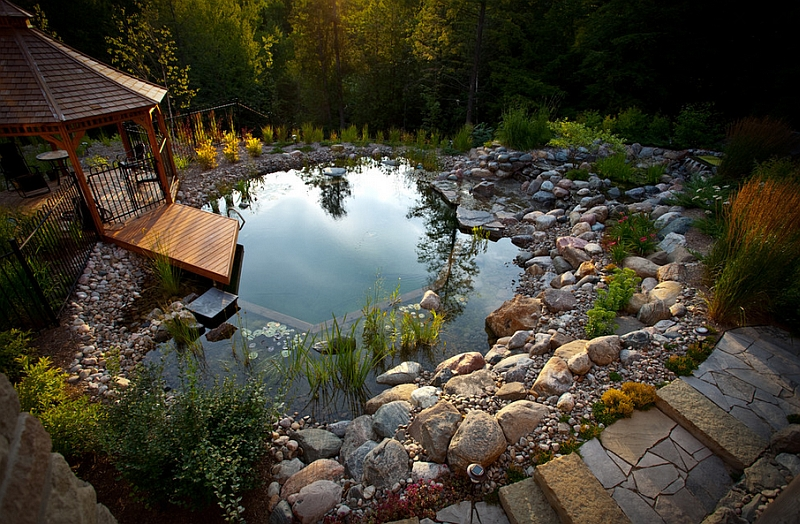 12 Enchanting Natural Swimming Pools Design Ideas For Your Living ...