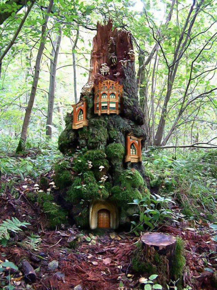 Fairy Houses and Garden